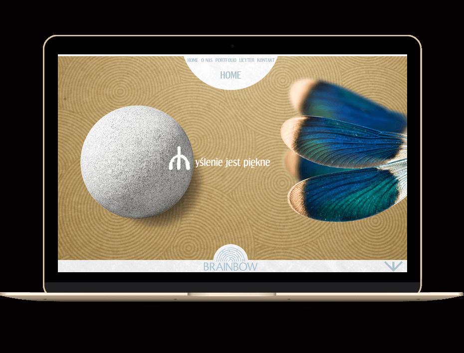 Brainbow - projektowanie www