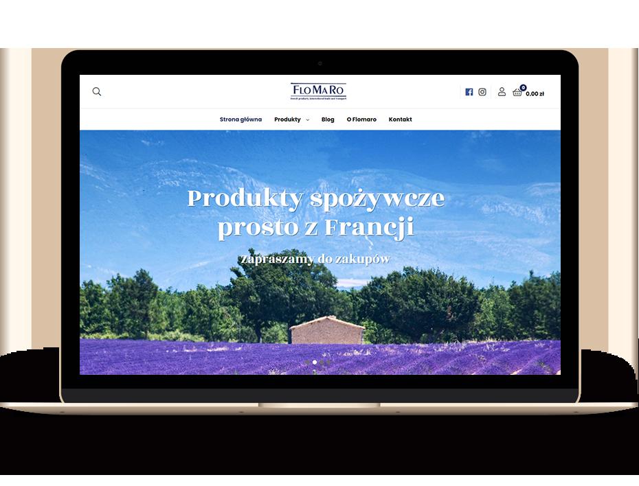 Sklep internetowy Flomaro